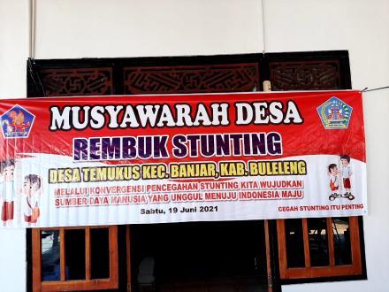 MUSYAWARAH DESA REMBUK STUNTING